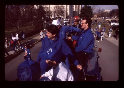 Rick Pitino in UK Parade
