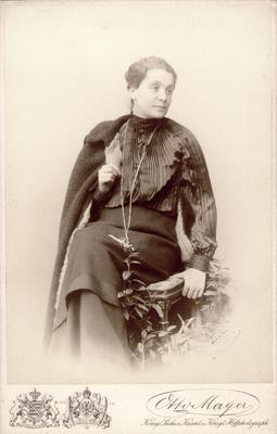 Eleanor Duse; Photographer: Otto Mayer; Dresden