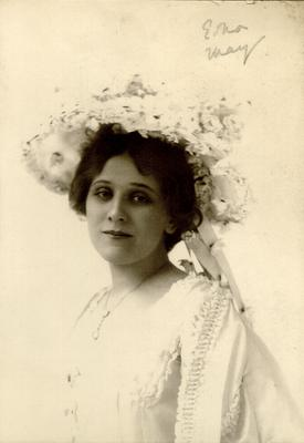 Edna May; Photographer: Burr McIntosh Studio; New York