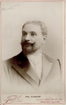 Pol. Plancon,                          Sang with Abby's Companion, 1894; Photographer: Falk; New York