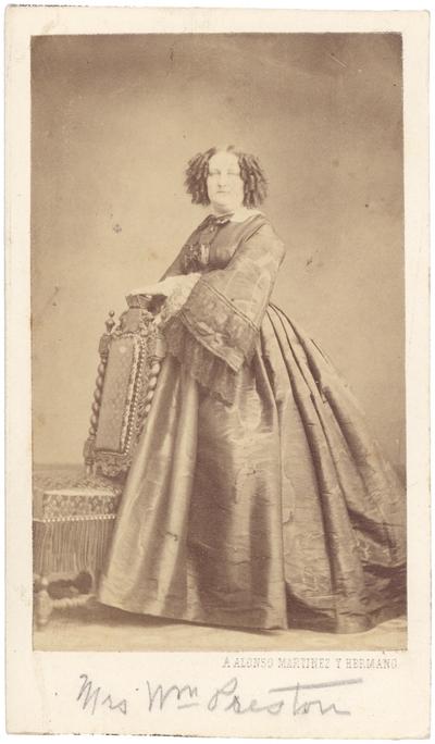 Margaret Howard Wickliffe (1819-1898) (Mrs. William Preston)
