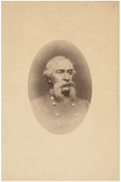 Major General William Preston (1816-1887), C.S.A.; Lexington, Kentucky native; served in the Kentucky State Legislature, in uniform