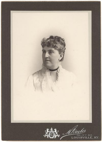 Mary Owen Preston (1841-1898) (Mrs. John Mason Brown)