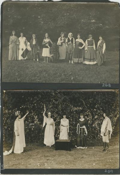 women in costume outdoors (2)