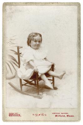 Elsie Allen Draper, handwritten on back in ink