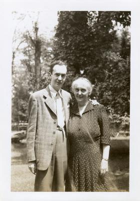 Margaret Wickliffe Preston Johnson (1885-1964) and Philip Preston Johnston III (1918-1964)