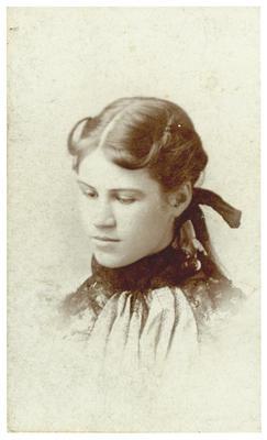 Unidentified woman, handwritten on back in ink