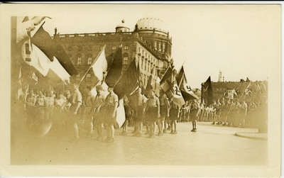 Nazi parade.
