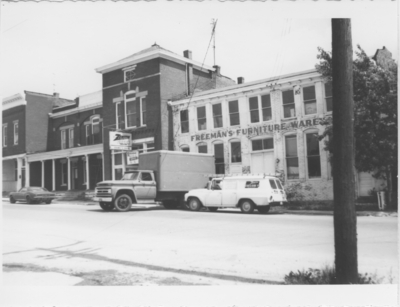 Series S-3-S24: Lawrenceburg (Ky.), downtown street