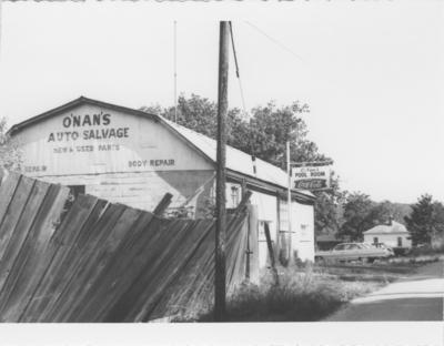 Series S-3-S31: Tyrone, O'Nan's auto salvage and pool hall