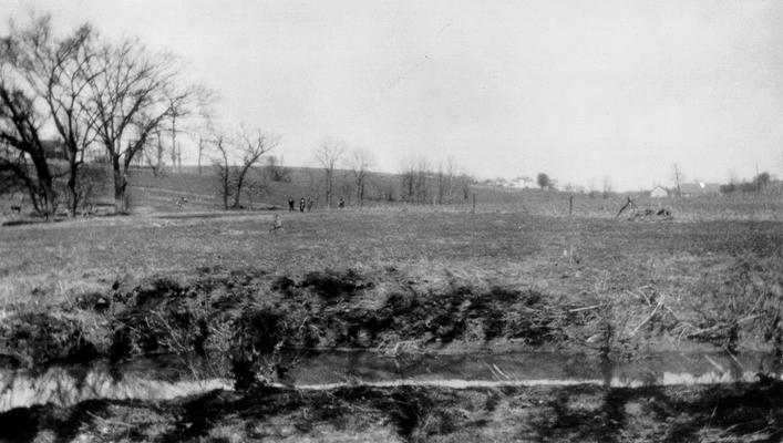 Duplicate of #101; The 'piece of low ground remarkable for English grass,' on Grassy Lick Creek in Montgomery County, KY