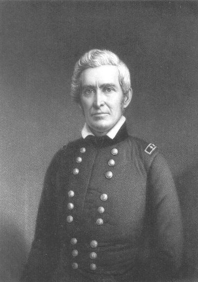 Engraving of Major General William Orlando Butler, Engraved by A.H. Ritchie from a fine Daguerreotype by Paige and Beach Washington