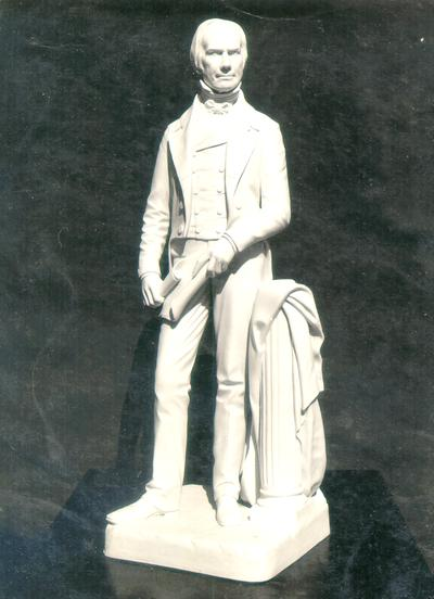 Photograph of sculpture of Henry Clay