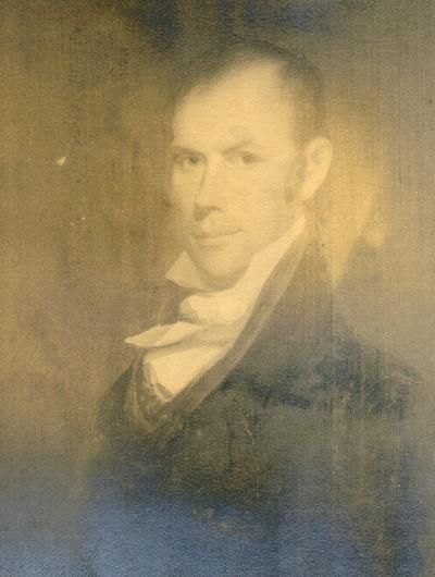 Photograph of portrait of Henry Clay