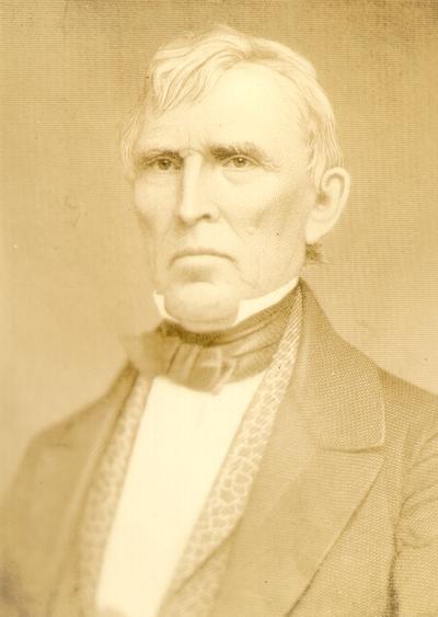 Photograph of painting of John J. Crittenden
