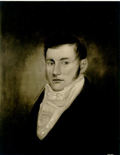 Photograph of painting of Jefferson Davis