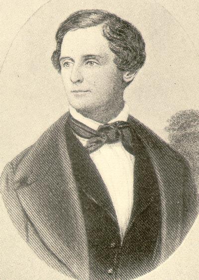 Engraving of Jefferson Davis