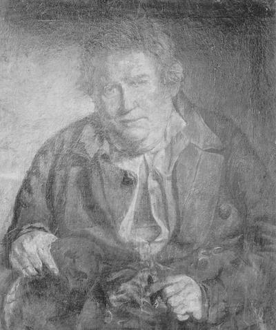 Photograph of painting of William King Solomon
