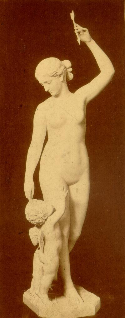 Photograph of Sculpture: Woman Triumphant, by Joel T. Hart