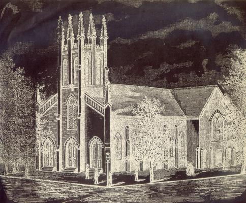 Christ's Church: Christ Episcopal Church (still standing)
