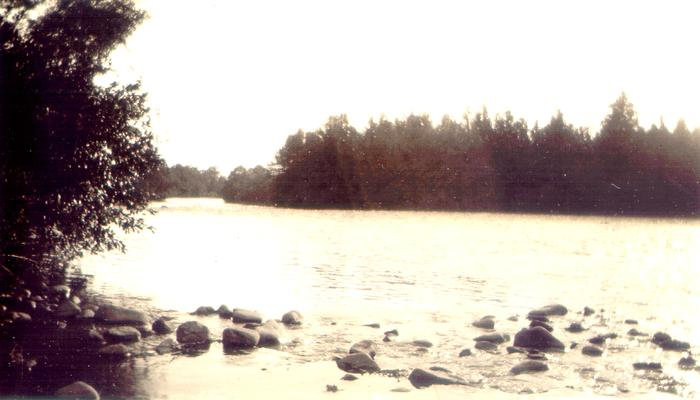 Sycamore Shoals of the Watonga River (Carter County, TN.)