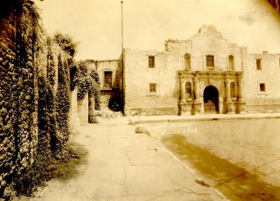 The Alamo, built 1718