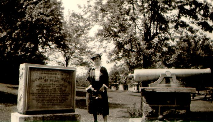 Mary Shelby Wilson at Courthouse Square; Manassas, Virginia