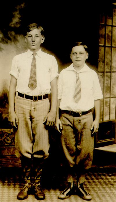 Francis Wilson and Ned Shelby