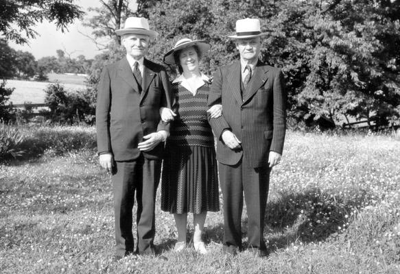 Samuel M.Wilson, Mary Shelby Wilson, and Evan Shelby