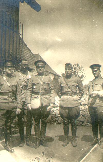 Major D.S. Wilson, M.C.W.S.A. and Captain Parner