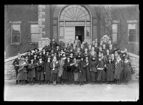 Lexington High School Club, S. Headley Shouse, presdient