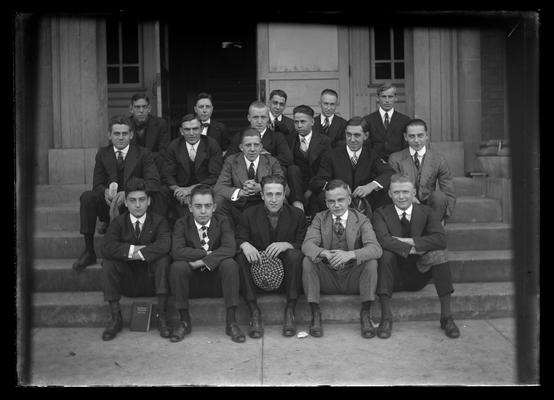 Civil engineers, seated
