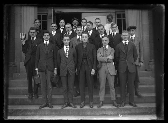 Civil engineers, standing