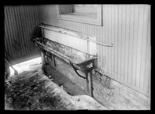 Latrine in rest room, building not given