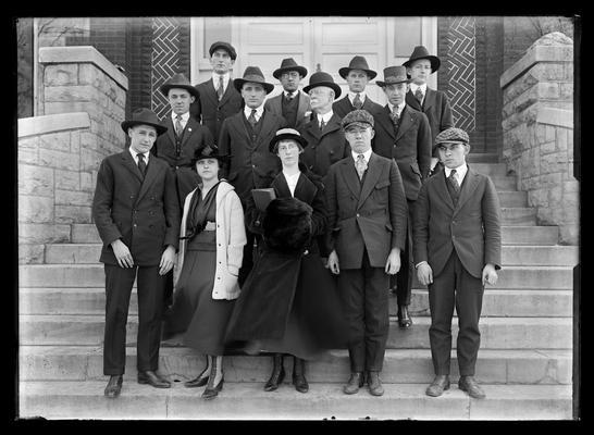 Pre-Medical society, J.W. Pryor, M.D