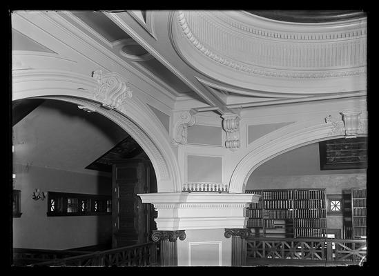 Library, Carnegie Library, detail of arches
