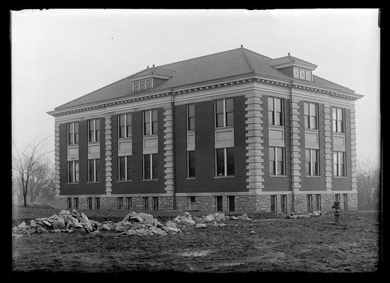 Kastle Hall, first wing (new Chemistry Building [Gillis Building])