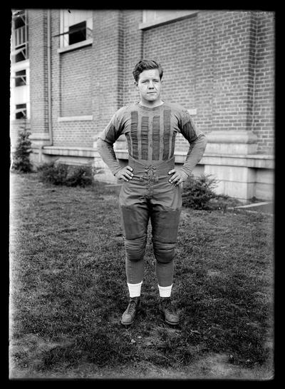 Football player, unidentified