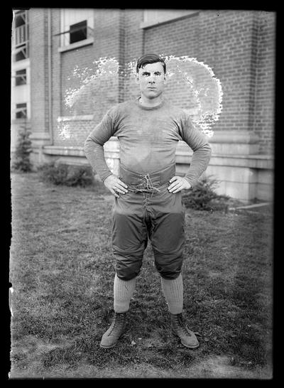 Football players, unidentified