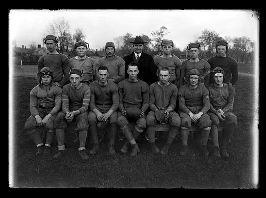 Football team, freshman, Coach R.W. Owens