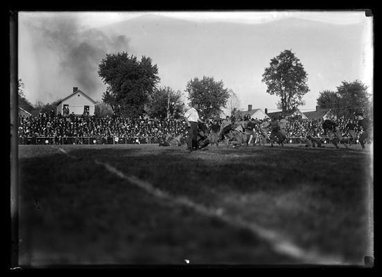 Football action, Vanderbilt game