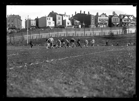 Football action, game in Cincinatti