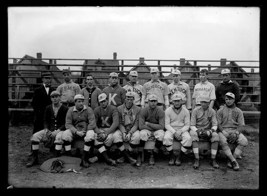 1909 baseball varsity squad