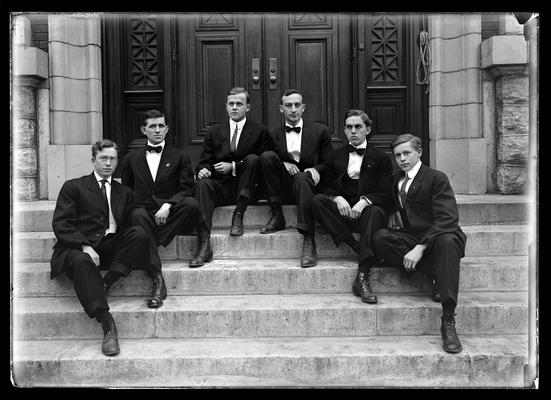 Bohemian Club, six men