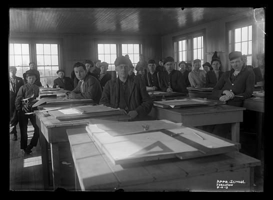 Railroad Apprentice School, Ferguson, drawing room