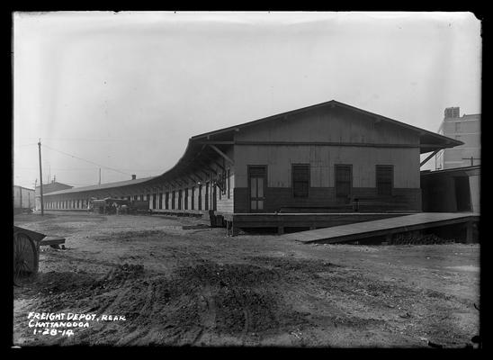 Chattanooga, rear of freight depot
