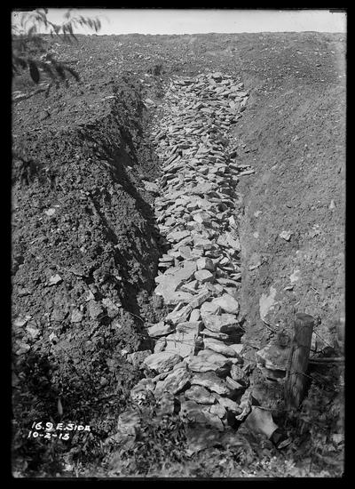 16.9 west side showing inlet of culvert