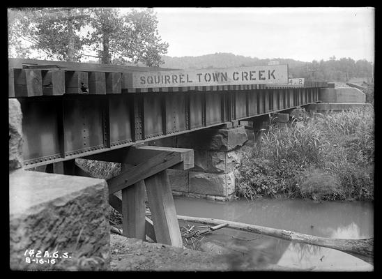 Bridge 14.2 Alabama Great Southern Railroad, Squirrel Town Creek