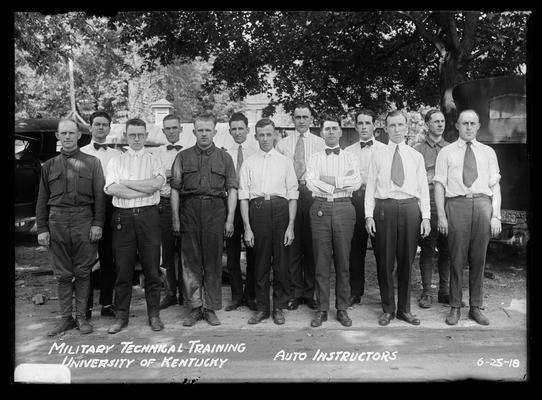 13 men, notation                          Auto instructors