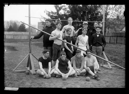 Notation Track team, KSC, April 1898